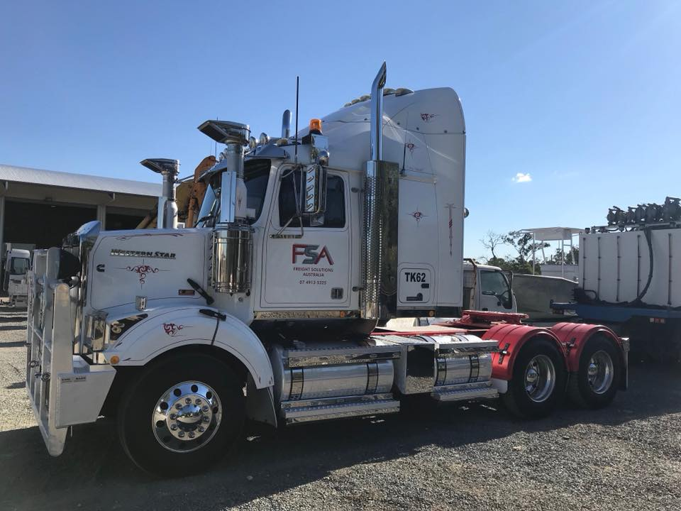 Freight Solutions Australia Prime Mover 3