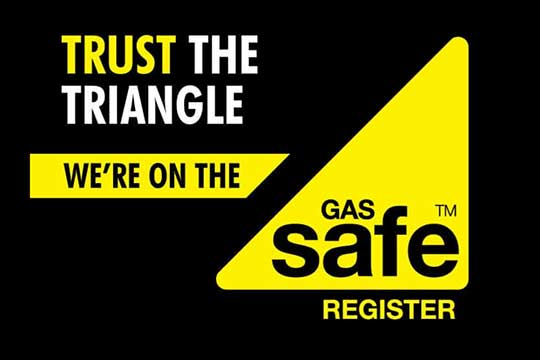 Trust the Triangle. A.S.K Heating Ipswich are gas safe registered.