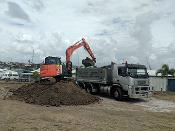 Tipper-truck-hire