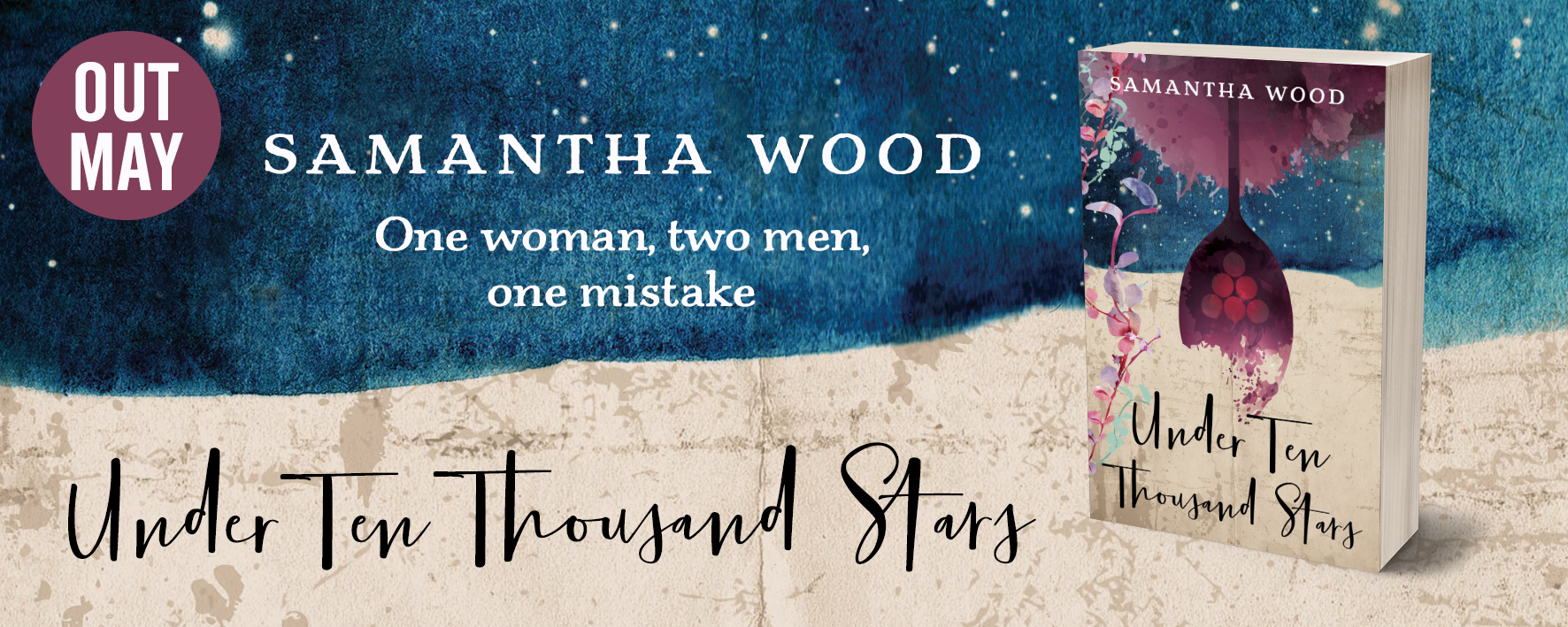 Under Ten Thousand Stars, a novel by Samantha Wood, out May 2019