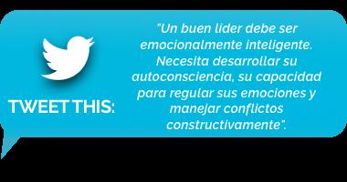 tweet - un buen líder debe ser emocionalmente inteligente