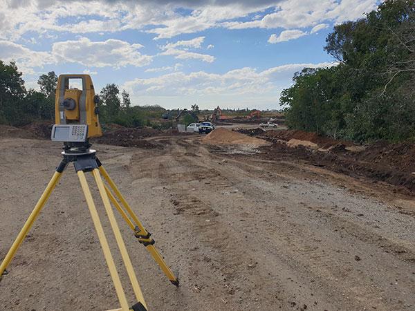 Hawe Earthmoving landscape and dozing, laser levelling, Bundaberg