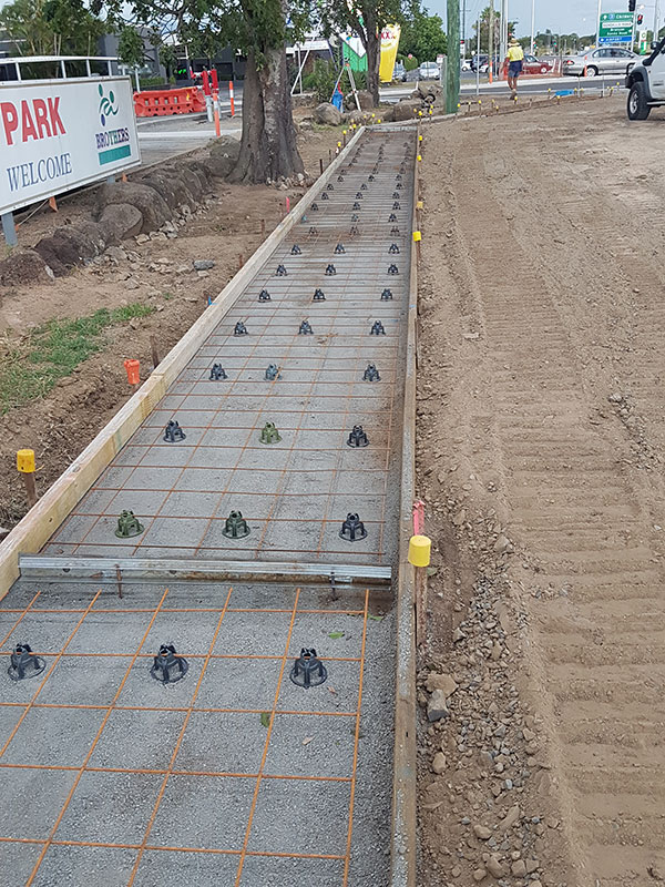 hawe-earthmoving-projects-Concrete-footpath-ready-to-pour-Takalvan-St-bundaberg