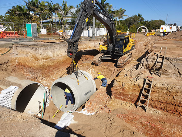hawe-earthmoving-projects-Storm-Water-Installation-West-Bundaberg-Drainage-Upgrade-bundaberg