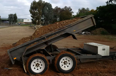 Hume Hire tipper-trailer-hire earthmoving services Lavington