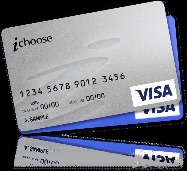 iChoose Branded Visa card