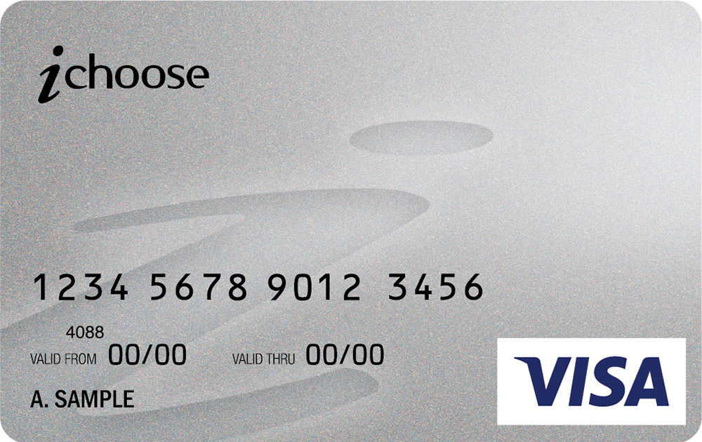 ichoose visa card - Prepaid Rewards Card