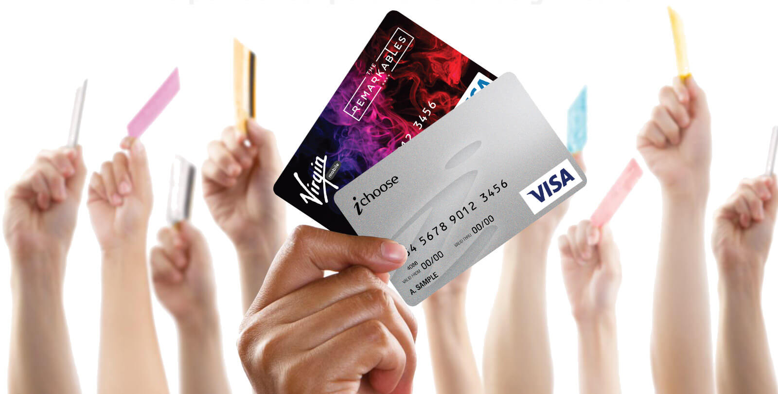 iChoose VISA prepaid branded and non-branded cards