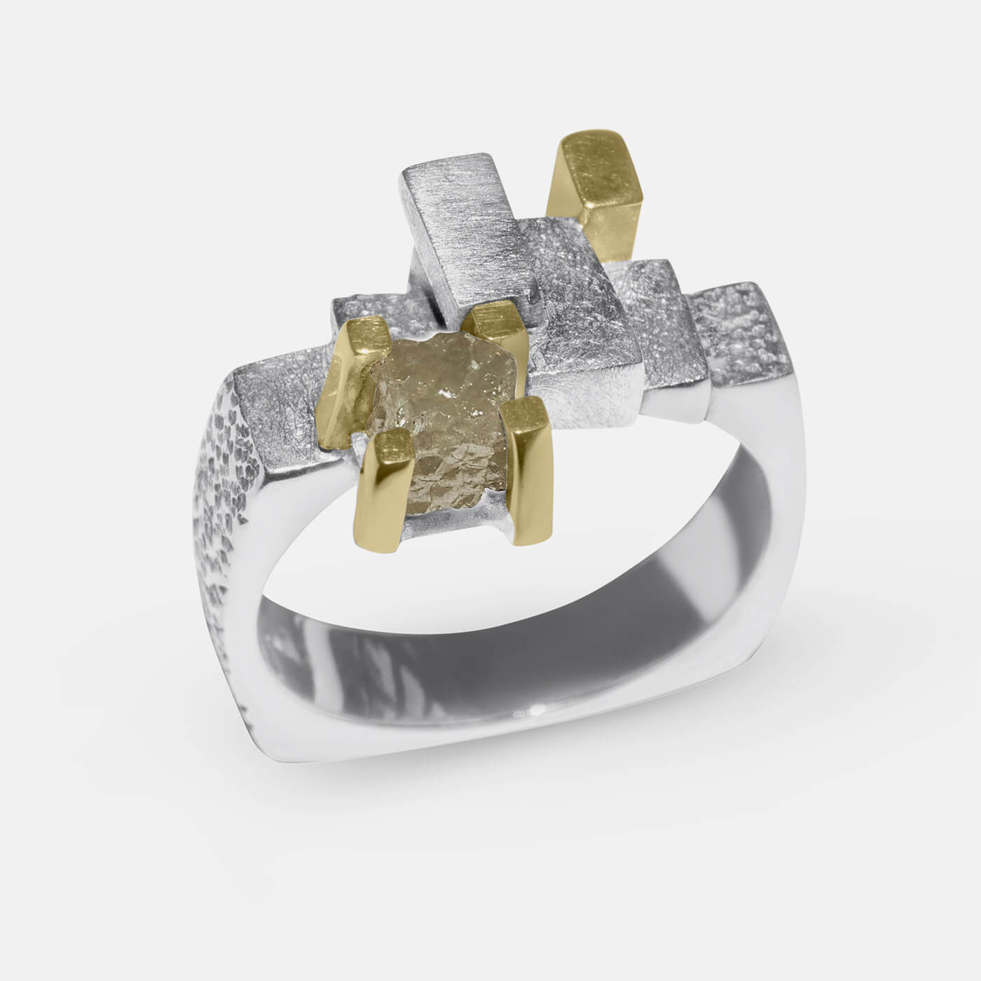 The Rough Diamond Dress Ring