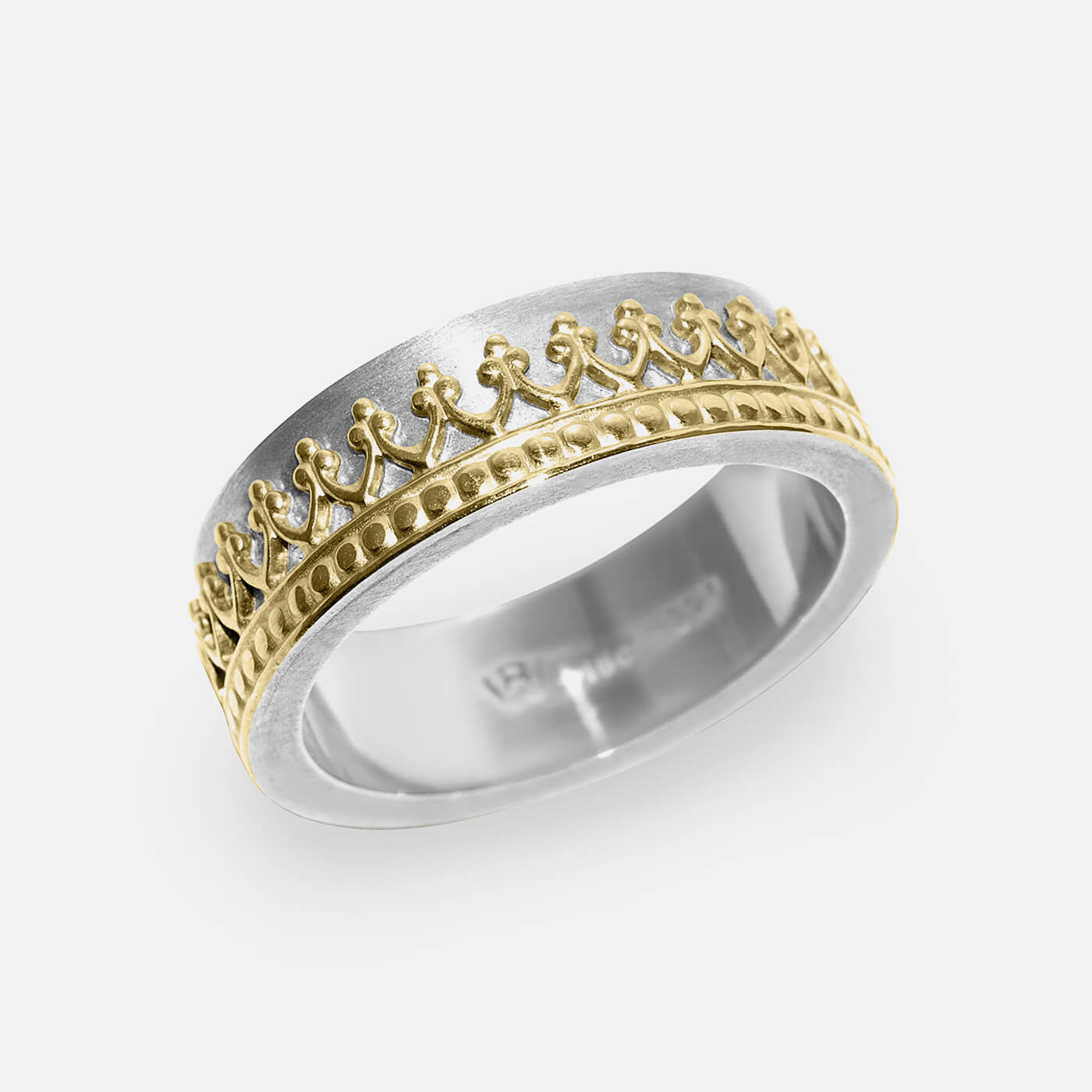 Crown It Wedding Ring