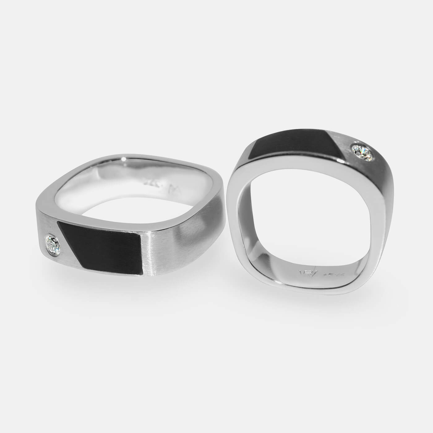 Geometric Shapes Wedding Ring