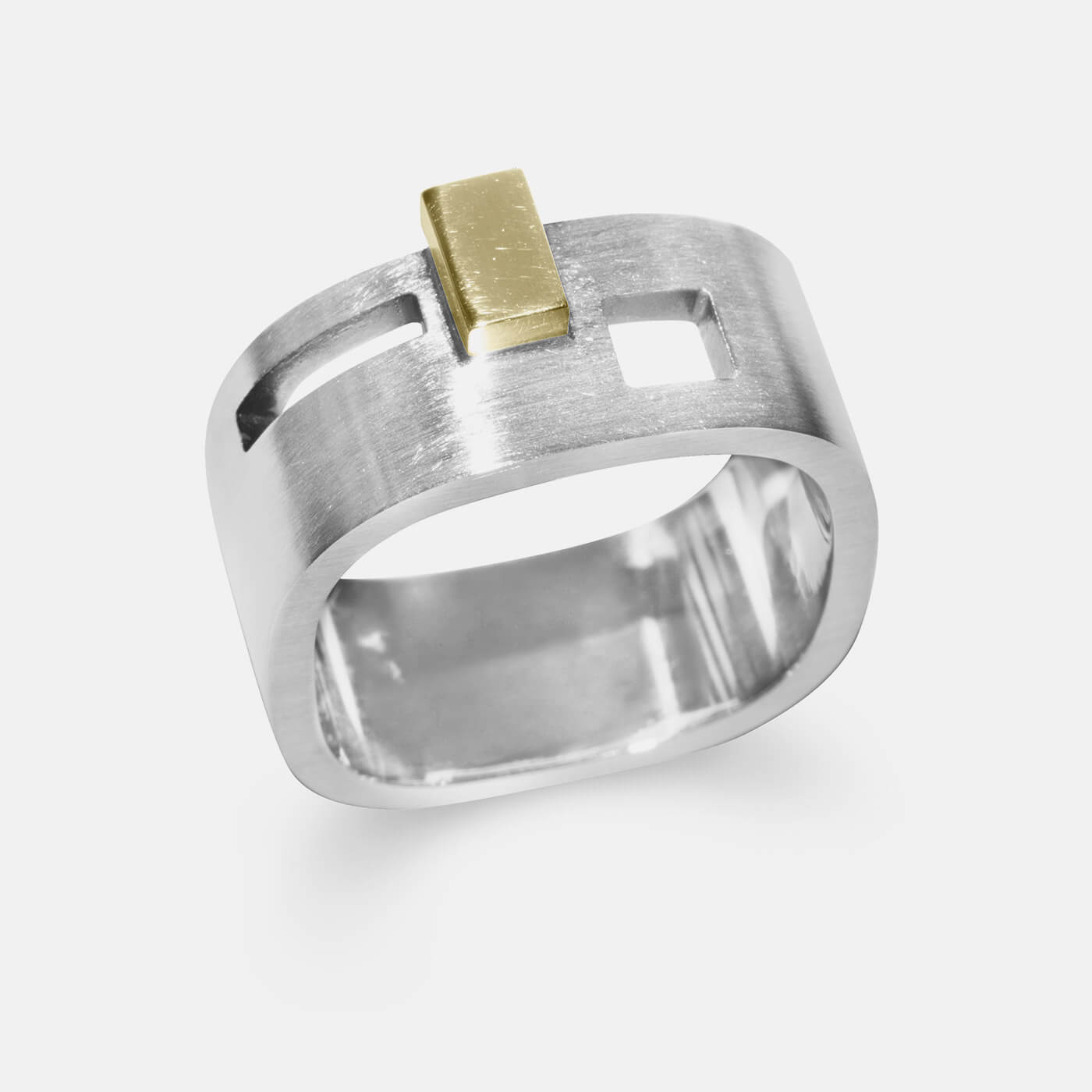 Architectural Progression 4 Wedding Ring