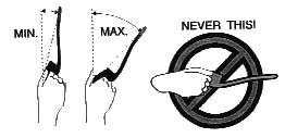 boomerang launch tilt angle