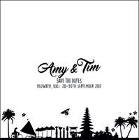 Amy and Tim invitation