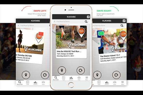 kukimbe running app