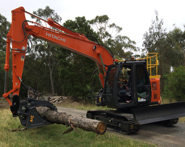 Latrobe Excavations excavator hire latrobe valley