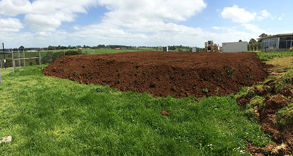 Latrobe Excavations Horse Manege and Arena Construction