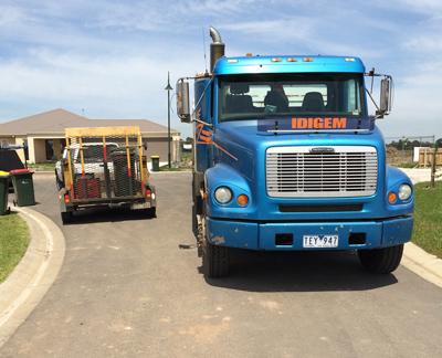 Latrobe Excavations Tipper Truck Hire in Rosedale