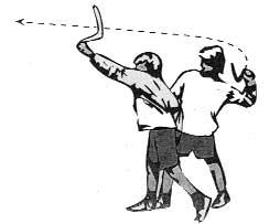 left hand throw