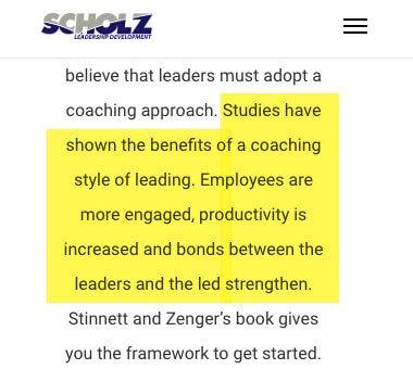 Líder Coach - estudios que muestren los beneficios del coaching