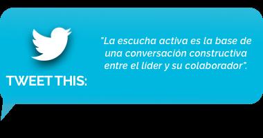 tweet - Numero 2: Permanecer en silencio y escuchar activamente