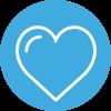 Amayaco consultoria en liderazgo con icono de corazon