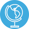 Amayaco discursos keynote con icono de globo
