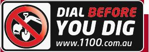 Dial Before You Dig Logo (DBYD logo)