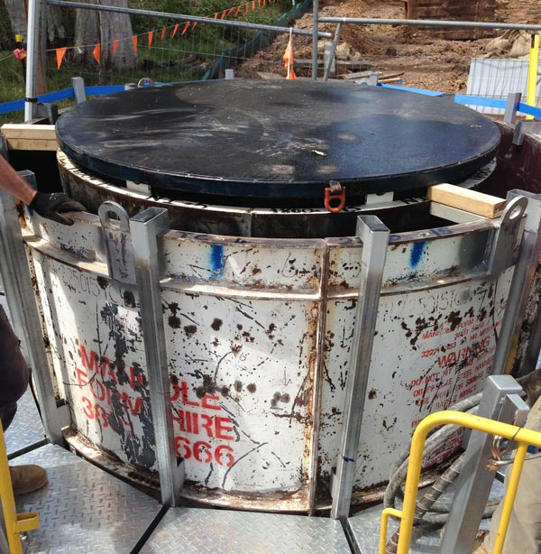 Manhole Form Hire Drum, Pour Boards and Extension Panels