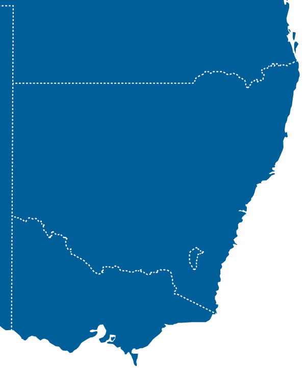 Servicing along the Australian East Coast