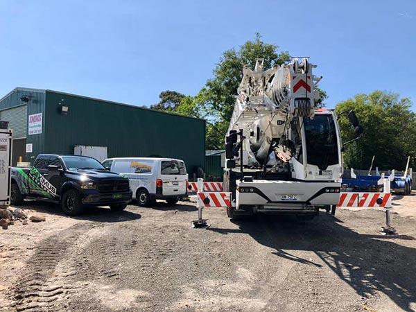 Maximus Cranes mobile crane hire Sydney Metro