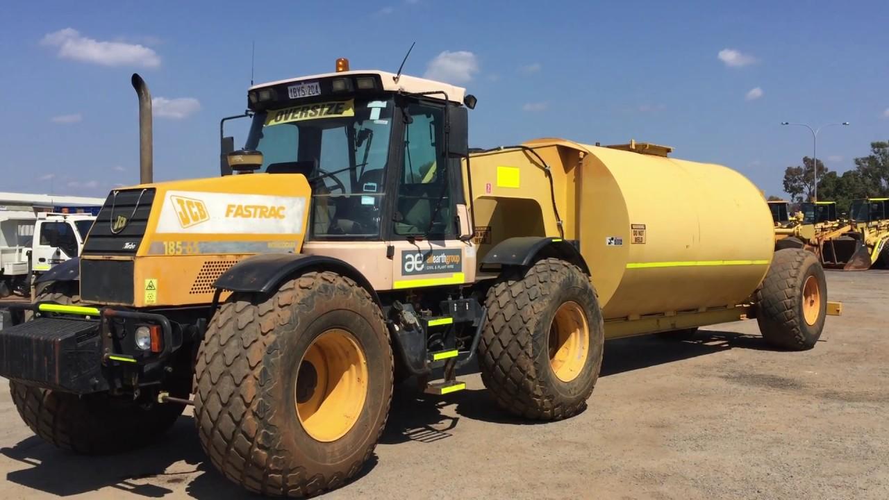 JCB Fastrac Water Truck