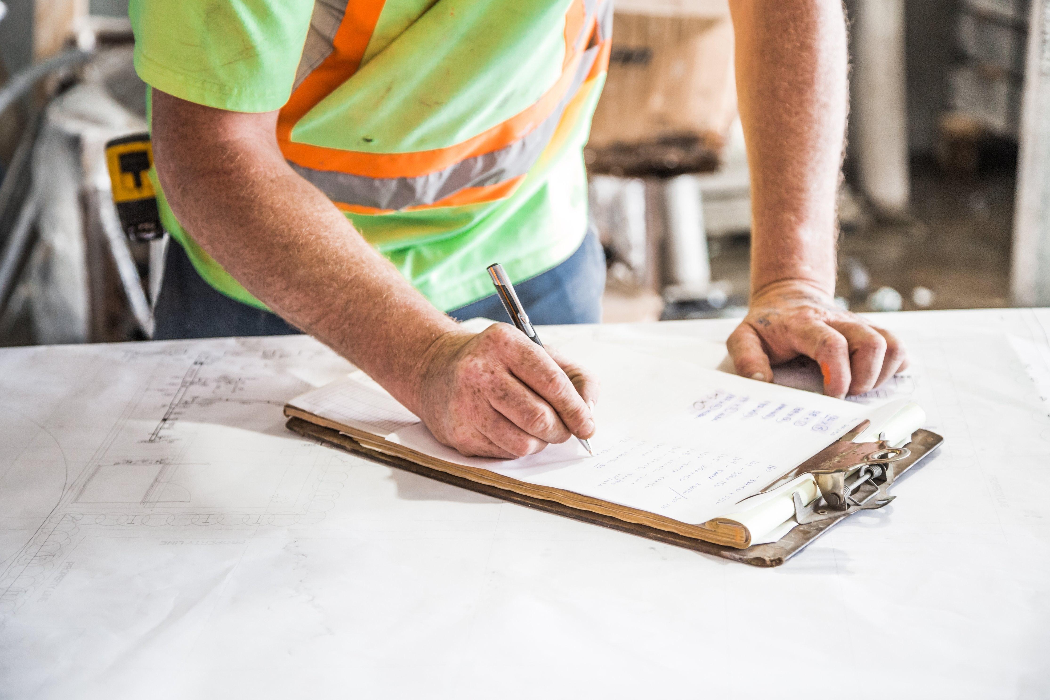 Heavy machinery maintenance records