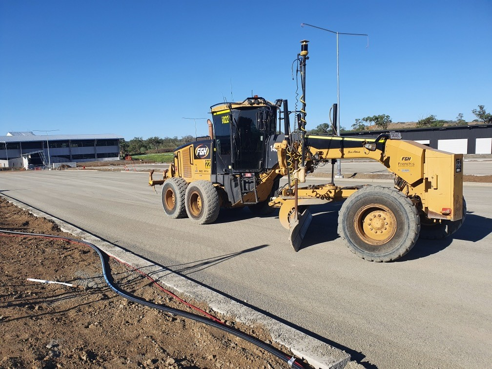 FGH Civil Grader Hire Toowoomba, Brisbane, Burnett