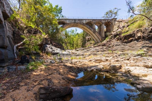 Heritage bridge Australia