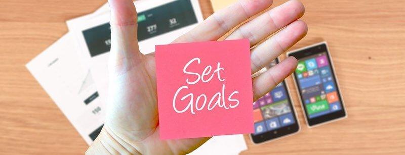 establecer objetivos e indicadores de éxito