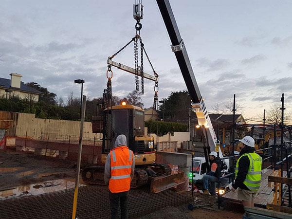 Project Cranes & Rigging mini crawler crane hire Melbourne machinery relocation