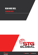 STG Global Rear Hose Reel Operators Manual