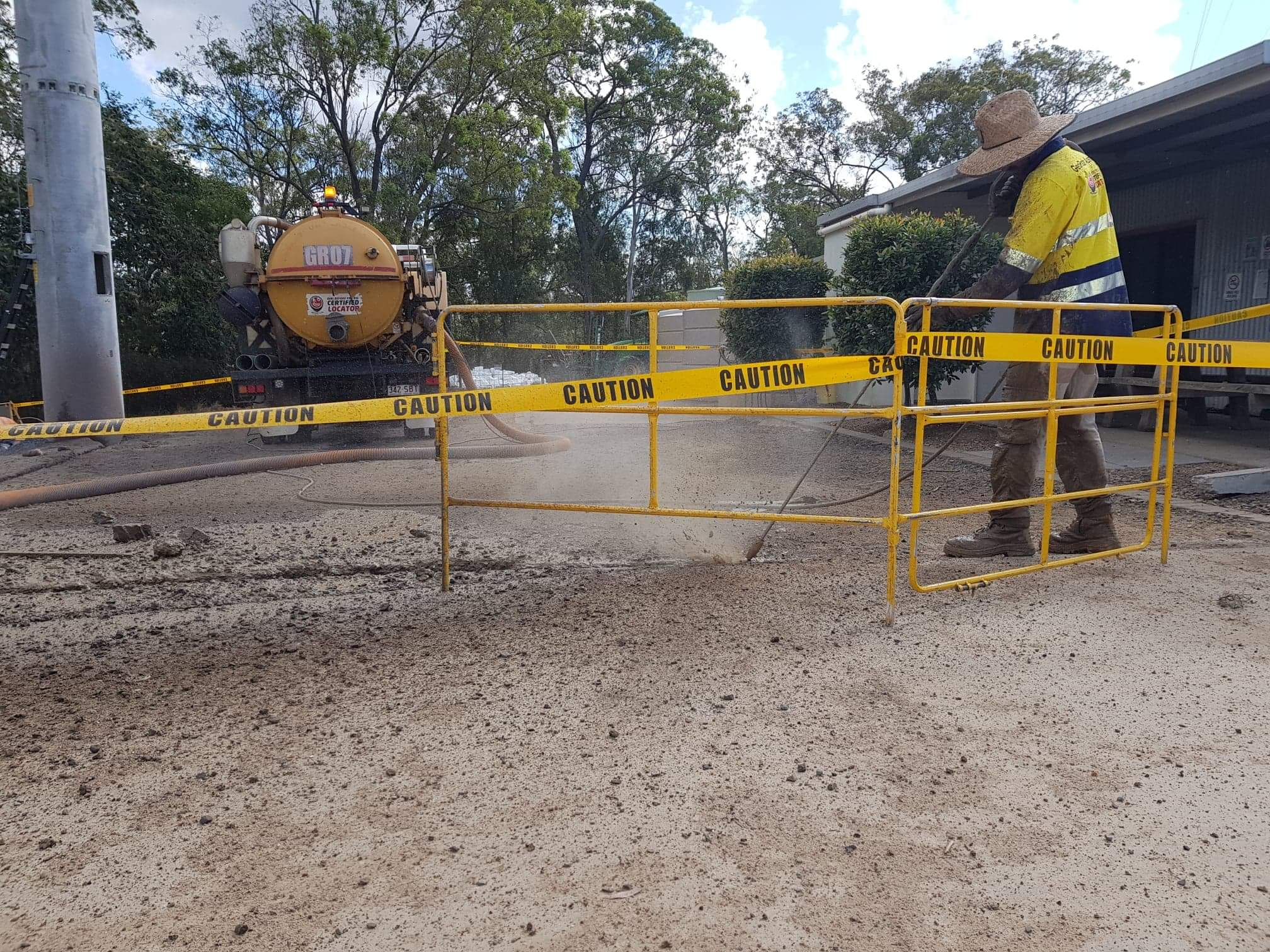 Geo Radar Australia Vacuum Excavation Truck Bundaberg