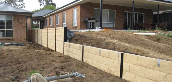 Ring A Retainer retaining wall and fencing contractors South Australia Adelaide
