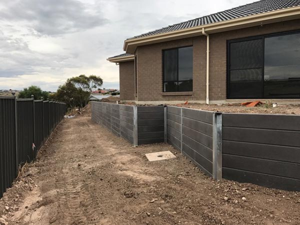 Ring A Retainer retaining wall and fencing construction services South Australia Adelaide