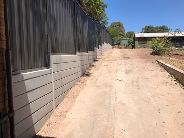 Ring A Retainer retaining wall and fencing construction South Australia Adelaide