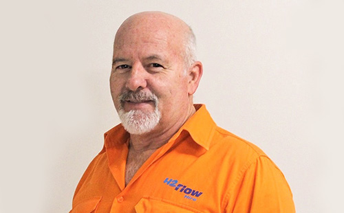 Royce Dowling - H2flow Hire Fleet Service Manager