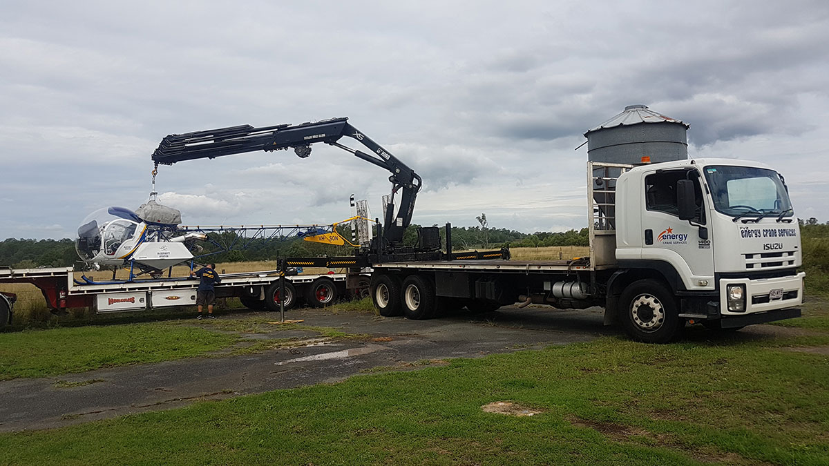 Scope Cranes & Logistics crane-truck-Brisbane