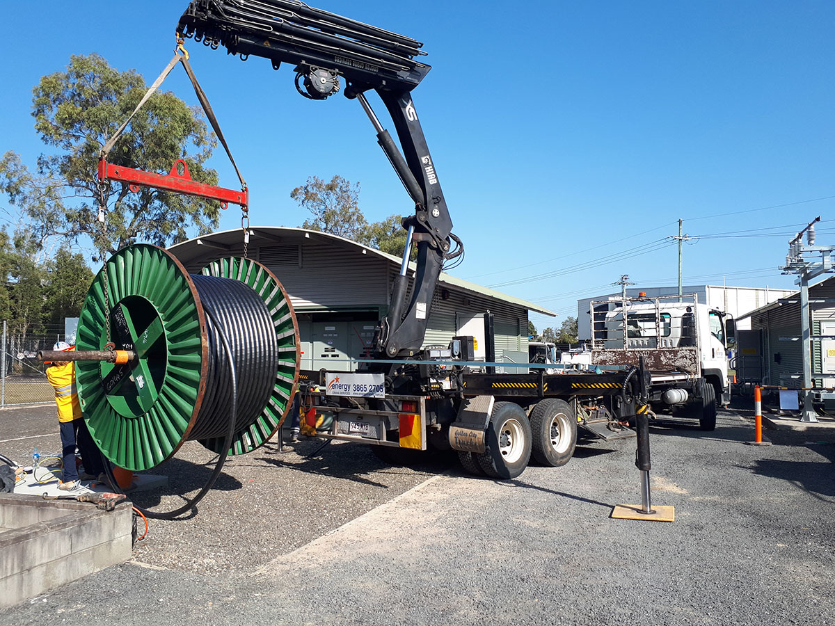 Scope Cranes & Logistics -crane-truck-Brisbane