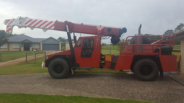 Scope Cranes & Logistics-143-franna-on-site-Toowoomba