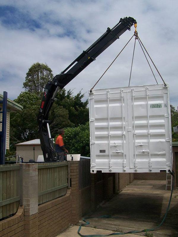 Scope Cranes & Logistics-container-Crane-Truck-Hire-Brisbane