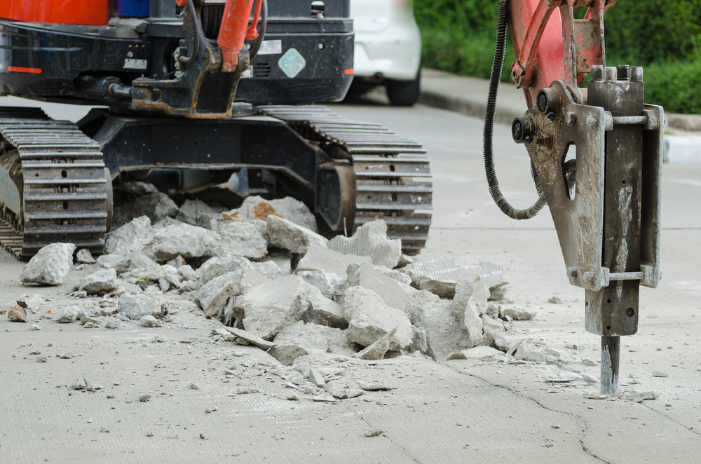 crushed concretesupply services
