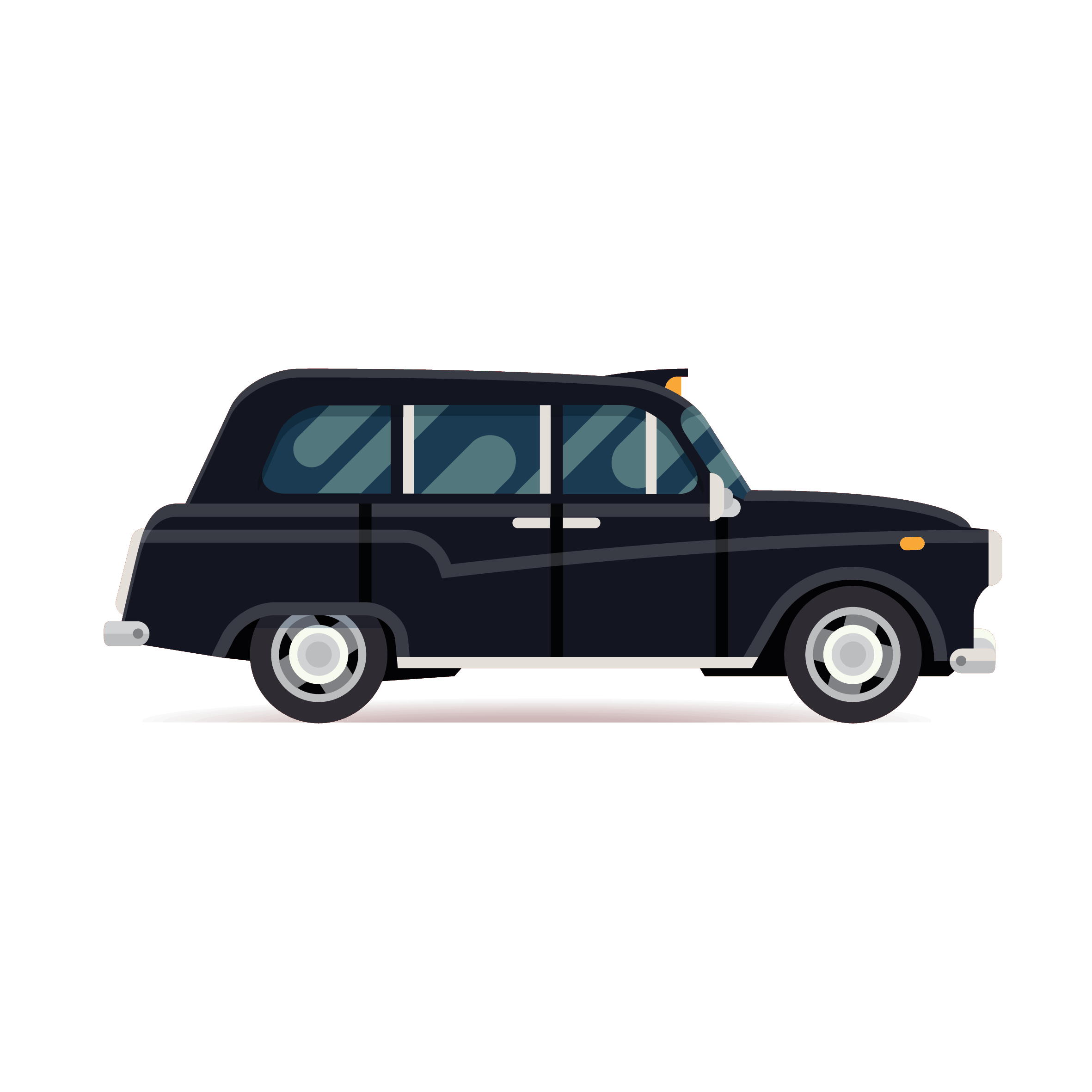 Our JUSTdrive taxi app connects black cabs with their customers at an affordable price.