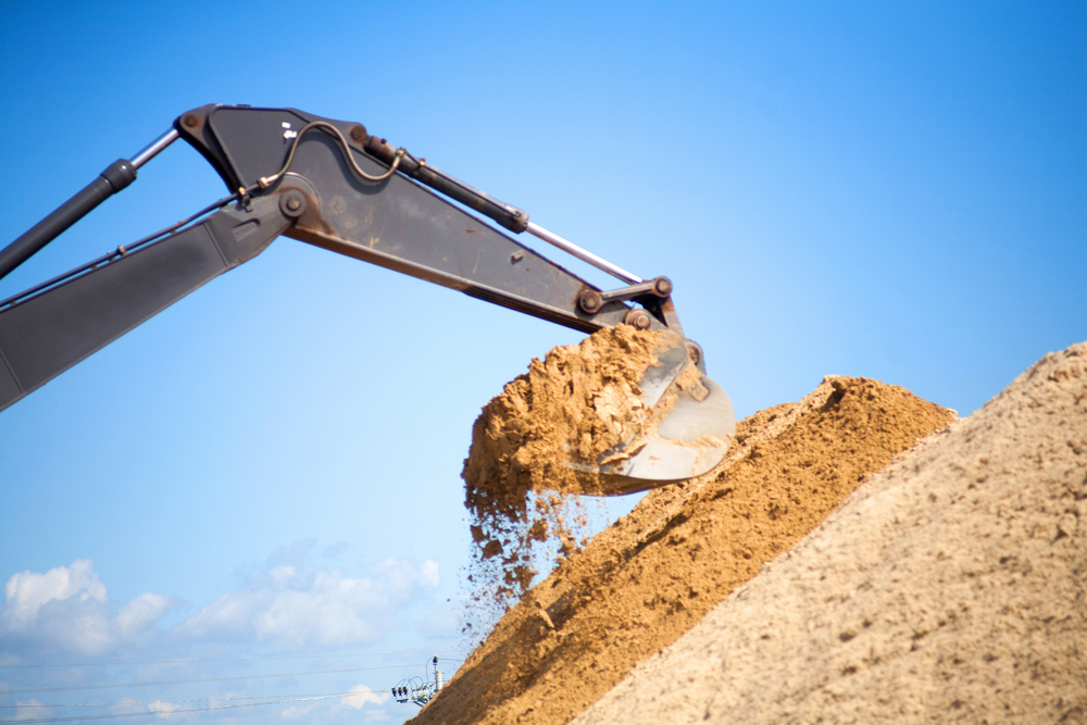 washed sand supply services